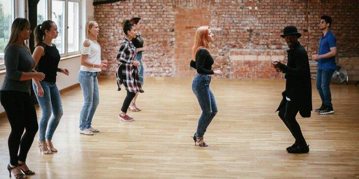 Ghetto Zouk a Kizomba - jedna nebo čtyři individuální taneční lekce