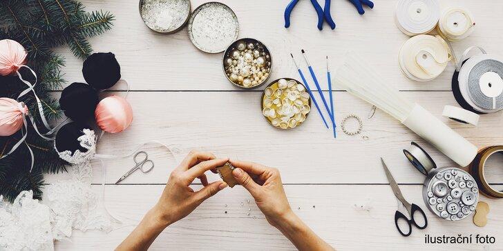 Víkendový kreativní kurz: Recy-věci aneb Dárky za babku