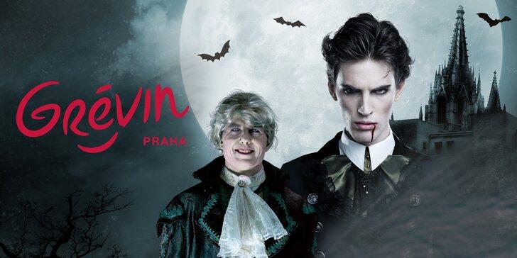 Něco pro odvážné: Halloweenský vstup nebo party v muzeu Grévin a Drákulova hra