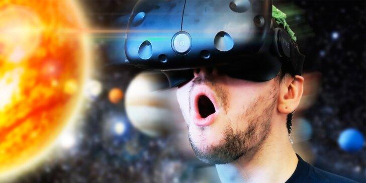 50 minut ve virtuální realitě až pro tři osoby – hrajte si a bavte se