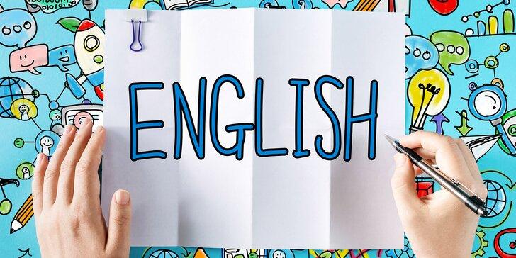 Kurzy angličtiny pro děti i dospělé: 10 nebo 15 lekcí a zapůjčení materiálů