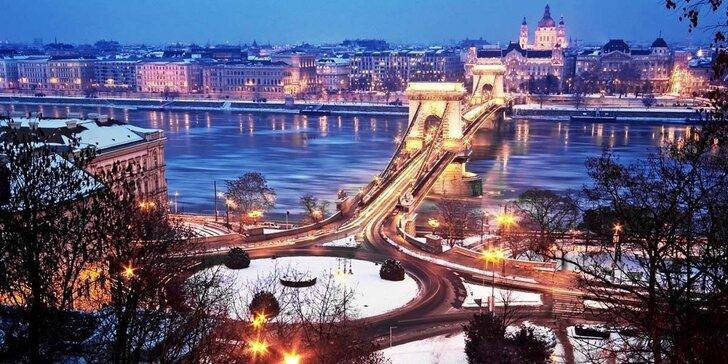 Kouzelná Budapešť, oděná do vánočního roucha, s odjezdy z Moravy