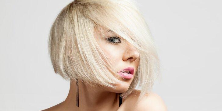 Kadeřnický střih s možností melíru pro všechny délky vlasů