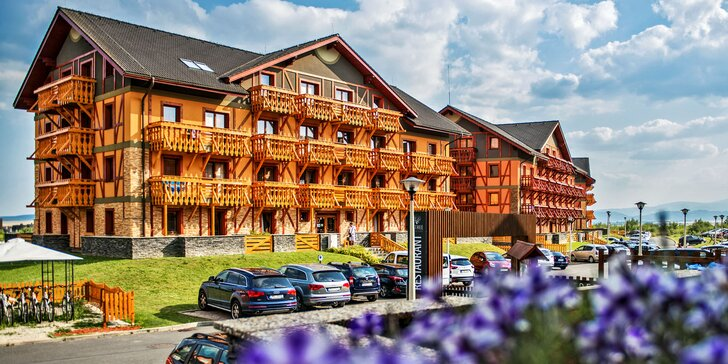 Tři dny v horách: pobyt v apartmánech u Popradu a slevy na zážitky i wellness