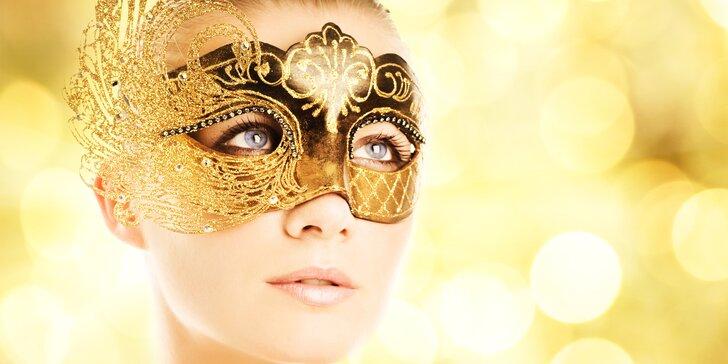 Hodinové kosmetické ošetření pleti 4 v 1 s použitím séra z pštrosího oleje