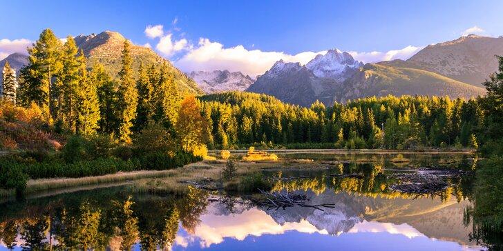 Podzimní pobyt přímo u Vysokých Tater pro 2: příroda, klid a mnoho aktivit