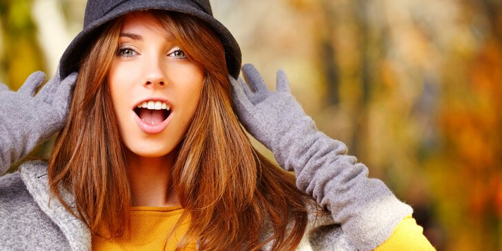 Na podzim jako nová: kompletní kadeřnický balíček s možností barvení
