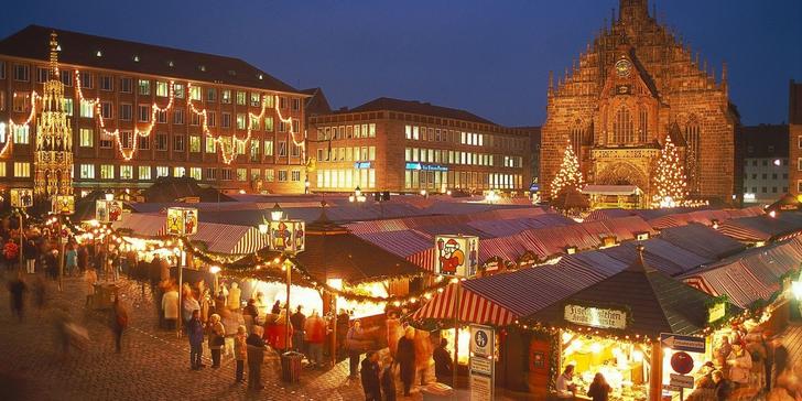 Advent císaře Karla IV. s kouzelnou atmosférou německých měst Lauf a Norimberk