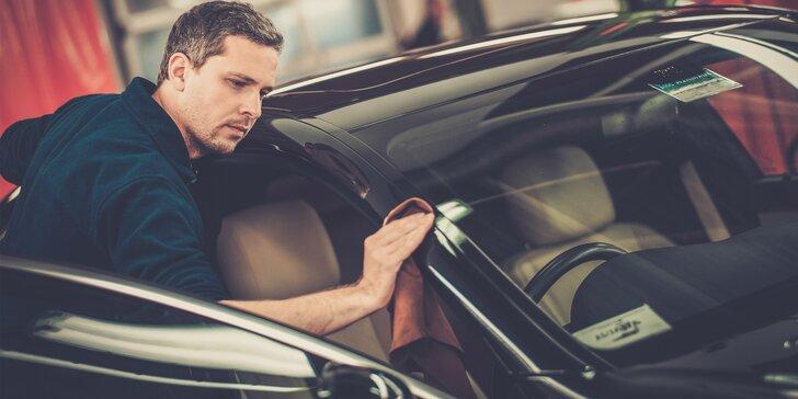 Kvalitně a pečlivě: Ruční mytí exteriéru či interiéru vašeho auta nebo komplet očista