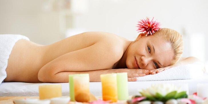 Nechte se hýčkat – 40minutová relaxační masáž zad, krku a šíje