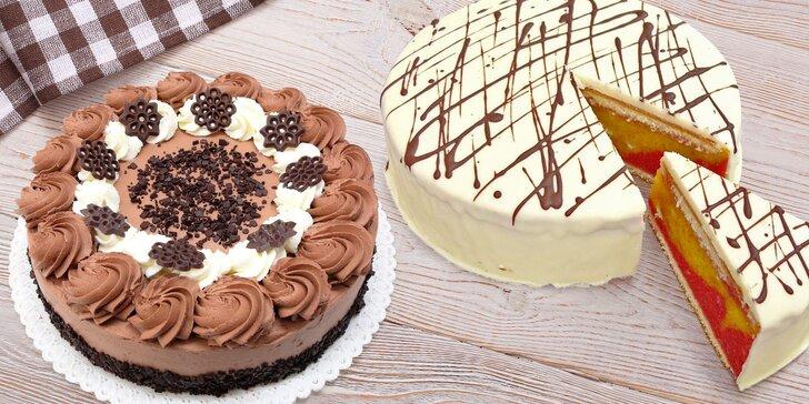Vyzvedněte si dort jako od maminky: Harlekýn, Florida, Punčák a další