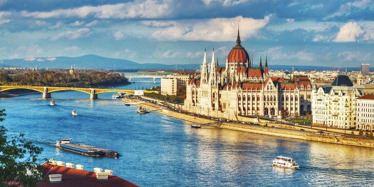 Na víkend za krásami Budapešti včetně noclehu ve 3* hotelu se snídaní