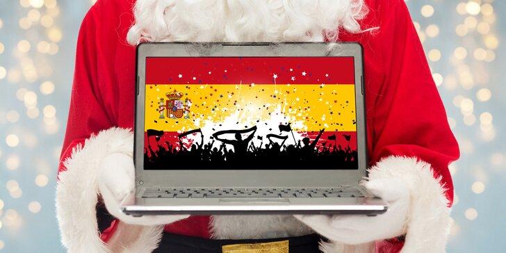 Šestiměsíční online kurz španělštiny + 1 přístup pro druhou osobu zdarma