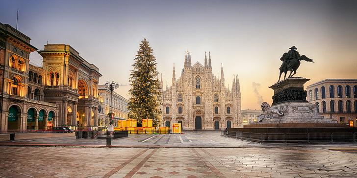 Ve stopách Leonarda da Vinci: adventní výlet za památkami a trhy Milána