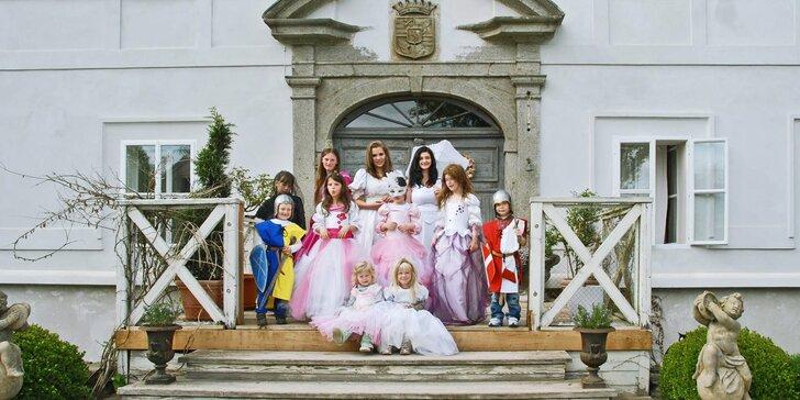 Zážitková návštěva zámku Radíč pro 2 dospělé a 2 děti