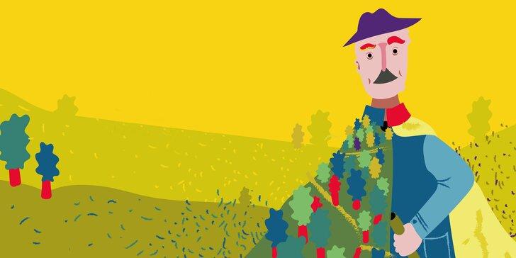 Vstupenka na divadelní představení Muž, který sázel stromy