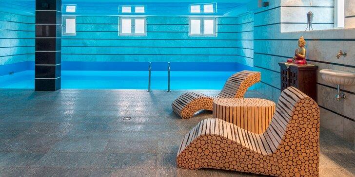 Luxusní pobyt s polopenzí a neomezeným wellness u Wroclavi