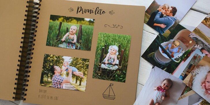 Schovejte svoje vzpomínky do kvalitního fotoalba nebo kartiček na památku