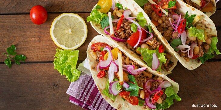 Olé, Mexiko volá: kuřecí tacos a domácí limonáda pro 1 nebo 2 osoby