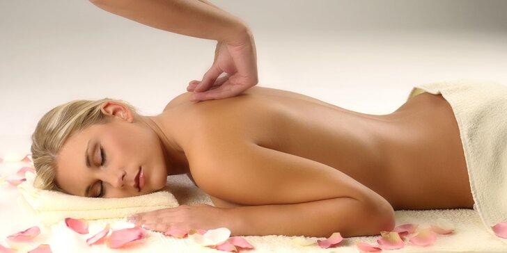 Osvoboďte své touhy: 90 či 150 minut dotekové terapie pro ženy