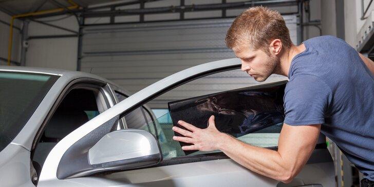 Profesionální tónování autoskel: protisluneční fólie dle výběru