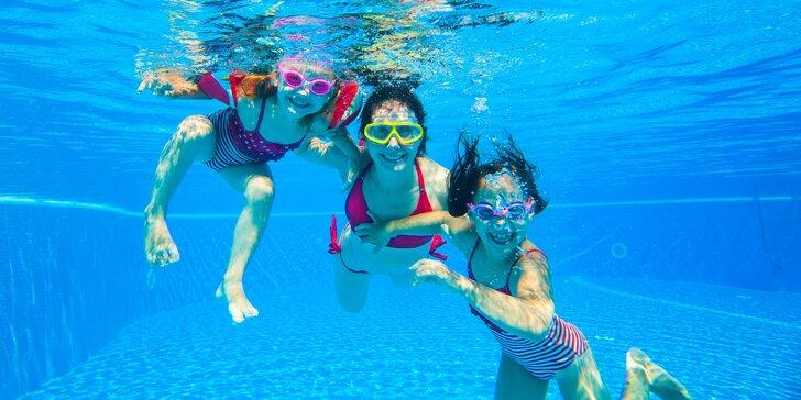 Vodní radovánky: Hodinový pronájem bazénu až pro 6 osob
