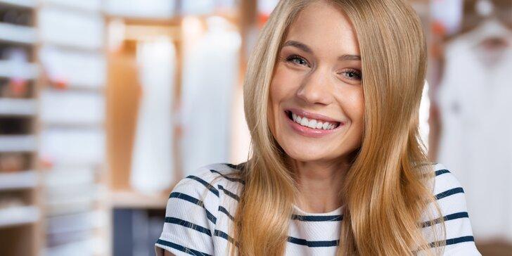 Důkladná dentální hygiena a případně i Air Flow pro váš zářivý úsměv