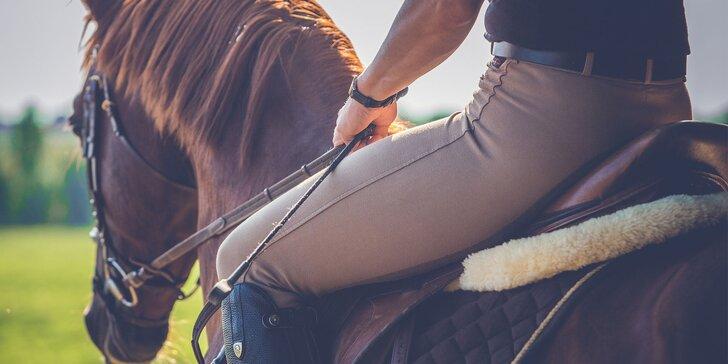 Vyjížďky na koni v přírodě
