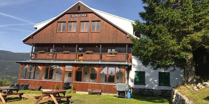 Splněný sen o horské dovolené: Až 4 dny v krkonošském Pensionu Horalka