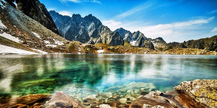 Relax, lyže i turistika ve Vysokých Tatrách s polopenzí a wellness pro dva