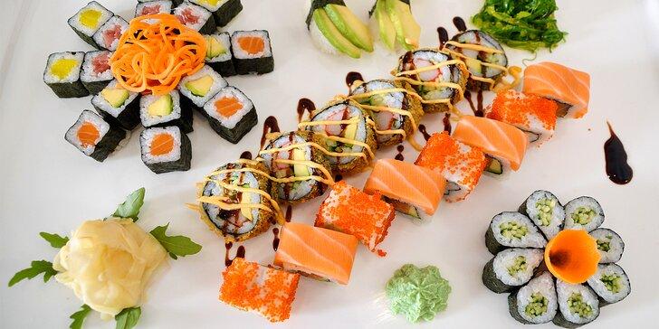 Napůl jídlo, napůl umělecké dílo: 40 kousků pestrobarevného sushi v srdci Brna