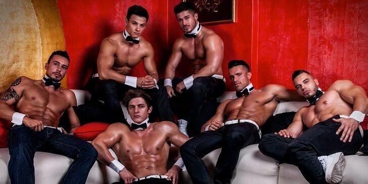 Něco pro velké holky: pánská striptýzová skupina Dream Men Show v plné síle