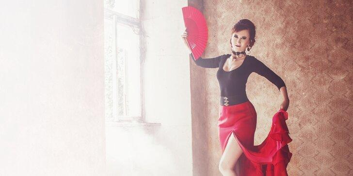 Vyzkoušejte něco nového: 3 či 10 lekcí orientálního flamenca pro začátečnice