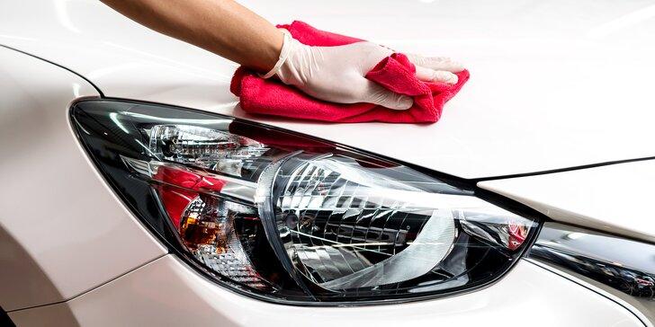 Péče o standardní i velké vozy: Využití nanotechnologie a šetrné ruční mytí