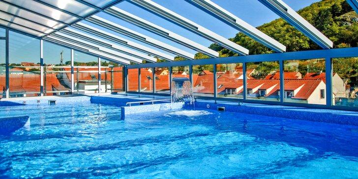 Luxusní relax v Mikulově: polopenze a střešní wellness v Hotelu roku