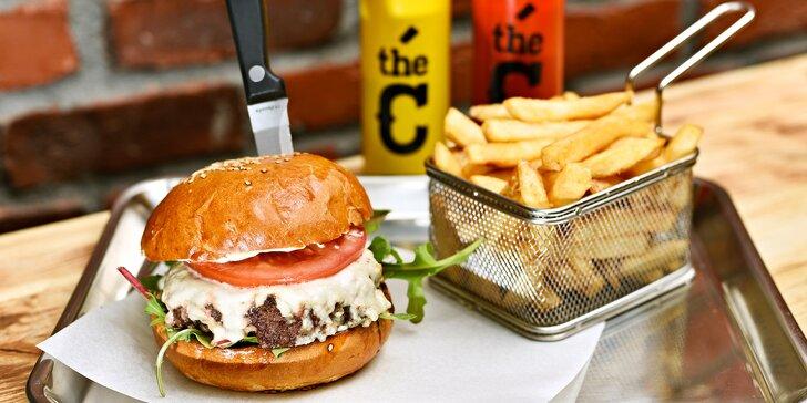 I příprava burgeru je řemeslo: poctivé burgery s kvalitním masem dle výběru