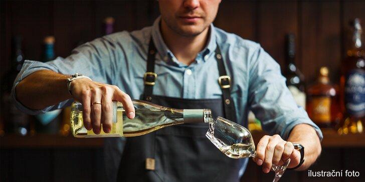 Vychutnávejte plnými doušky: degustace vína a zážitkový someliérský kurz
