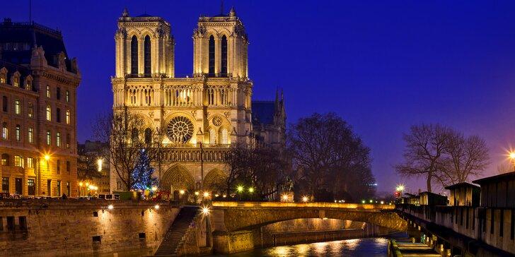 Poznejte kouzlo adventu v Paříži a Versailles a ubytováním na 1 noc se snídaní