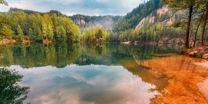 Podzimní pohoda: apartmán až pro 4 osoby kousek od Adršpašských skal