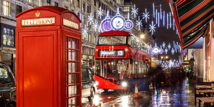 Adventní Londýn a Oxford s ubytováním na 2 noci se snídaní včetně trajektu