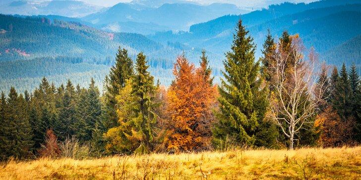 3 dny v podzimních Beskydech: polopenze s krajovými specialitami i sauna