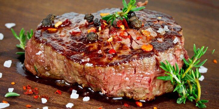 Steaky na talíři: 4hodinový kulinářský kurz ve studiu Šelma v kuchyni