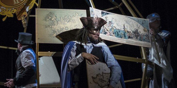 Vstupenka na divadelní představení pro mládež: Jak (Jules) žil Verne