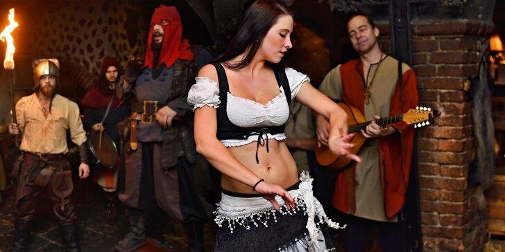 Super den a noc ve středověku: dobový program, bohatá hostina i prohlídka