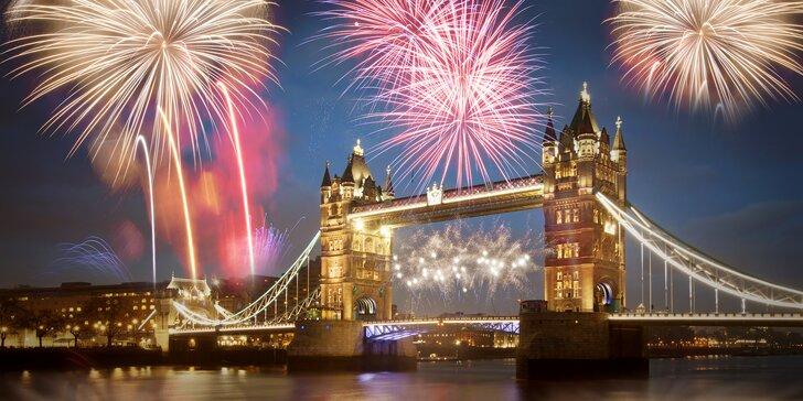 Silvestr v Londýně vč. trajektu s ubytováním, snídaní a velkolepým ohňostrojem