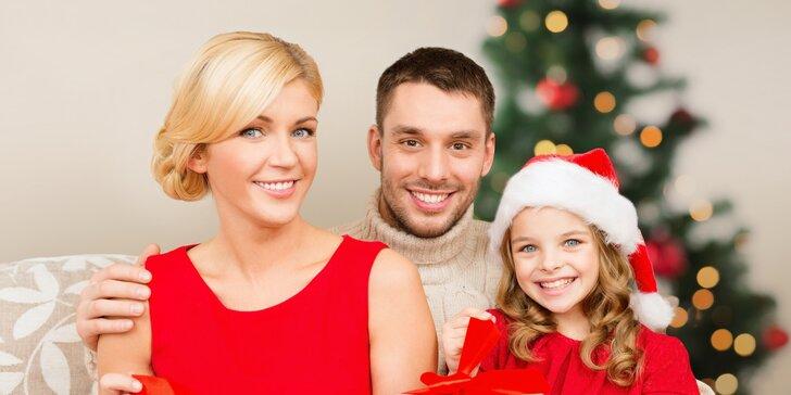 Mějte u čeho vzpomínat: vánoční, dětské, rodinné, portrétní či těhotenské focení