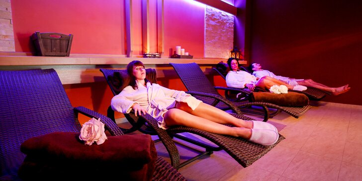 Božská relaxace v historickém Táboře: neomezené wellness a polopenze