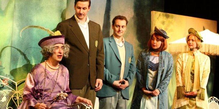 Vstupenka na představení Charleyova teta - báječná komedie pro celou rodinu