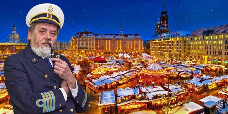 Adventní plavba za nákupy do Drážďan, autobusem zpět, včetně oběda