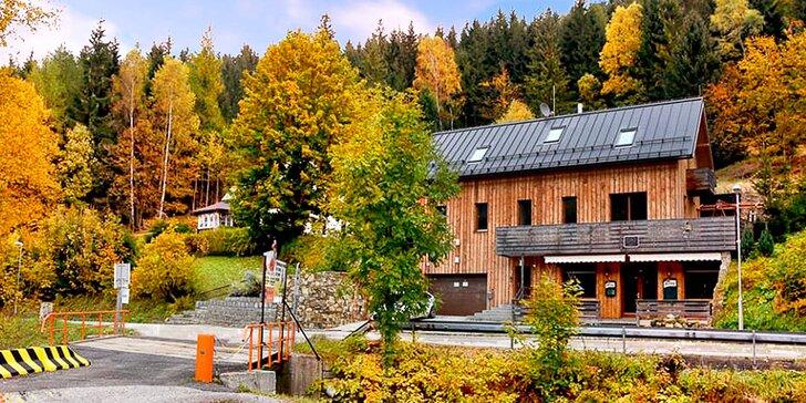 Krásný podzim i aktivní zima v Harrachově: apartmány se snídaní pro dva